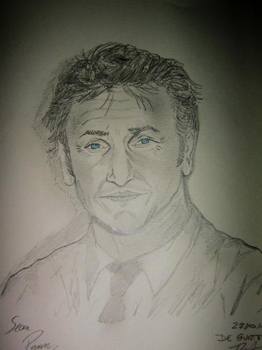 Sean Penn by JIM
